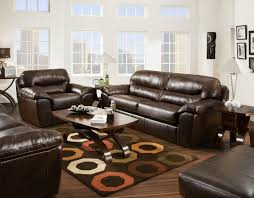 Faux Leather Casual and fortable Family Room Sofa Sleeper by