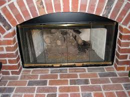 gas fireplace logs smell when lit fireplaces