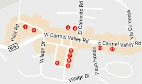 carmel valley village art galleries map