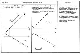 Начертательная геометрия и инженерная графика ИРс Инженерной  Записать условия задания поверхности и задать точку на этой поверхности ПРИМЕР решения контрольной работы № 1 для просмотра кликните на изображение