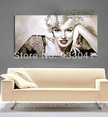 high quality hand painted red ballet woman dancer canvas oil painting modern abstract home decoration wall art for