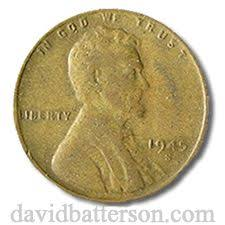 1945 Wheat Penny Value Chart Pin On Coin Collecting