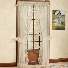 Priscilla Curtains Living Room Sheer Curtains Window Treatments Touch Of Class