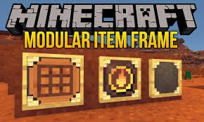 modular item frame mod for minecraft logo