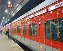 When Chart Is Prepared For Prayagraj Express Departing From