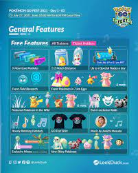 Pokemon GO Fest 2021 has started - the ...