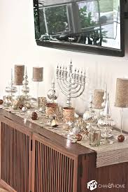 the perfect table space decorations for hanukkah d cor aid