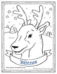 Small Picture Blitzen the Reindeer