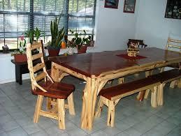 Log Bedroom Furniture Wonderful Log Wooden Master Bed Frames As Rustic Log Furniture