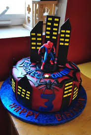 Spider Man Birthday Cakes Photo Gallery Of The Spiderman Birthday