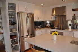 kitchens with white quartz countertops off white kitchen cabinets with quartz countertops
