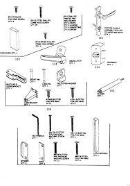 schlage door parts series exploded door hardware parts names handle u kitchen cabinet terminology cabinets schlage door