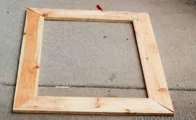 woodwork diy wood frame pdf plans