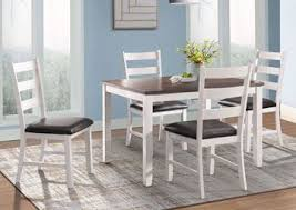martin dining table set white