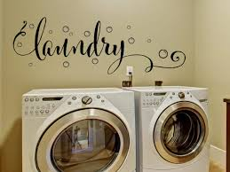 ... Large-size of Wondrous Laundry Room Designer Decals Together With  Bubbles Wall Decor Along With ...