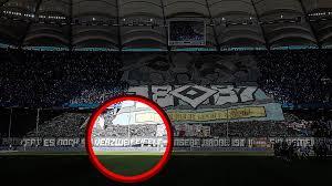 Hsv zeigt gegen dresden seine zwei gesichter; Hamburger Sv Peinliche Choreo Panne Gegen St Pauli Hsv Fans Verzweifeifelt Sportbuzzer De