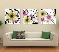 Paintings Living Room Living Room Paintings 4 Panel Hand Made Modern Canvas Picture Oil