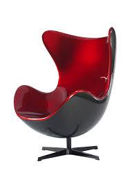 Carbon Fiber Chair Koenigsegg Egg Chair Metallic Red On Carbon Fiber Credits
