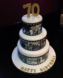 Film roll cake - Cake by Andrias cakes scarborough - CakesDecor