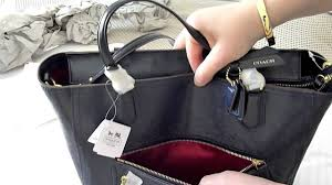 COACH Poppy Blaire Tote Bag Review Patent Leather Handbag by Unboxing  SydneyDiva - YouTube