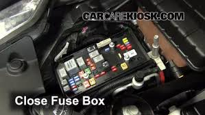 replace a fuse 2006 2011 cadillac dts 2006 cadillac dts 4 6l v8 6 replace cover secure the cover and test component