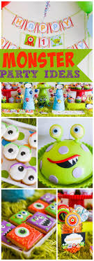 2 Year Birthday Ideas Best 20 Monster 1st Birthdays Ideas On Pinterest Monster Party