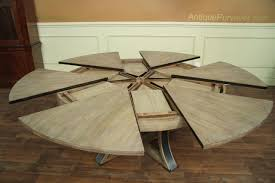 Expanding Tables Dining Tables Expandable Round Dining Table By Skovby Expandable