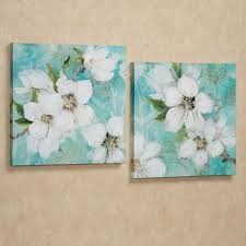 >wall art best pictures flower canvas wall art diy flower canvas  bloom giclee flower canvas wall art set will grace your walls with the beauty of nature