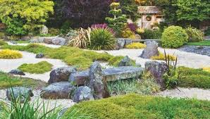 Rocks are carefully placed amid gravel and natives in this Japanese-themed  Taranaki garden