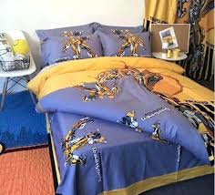 transformers bed sets pure cotton cartoon transformers superman blebee bedding sets pillowcase bed skirt duvet transformers