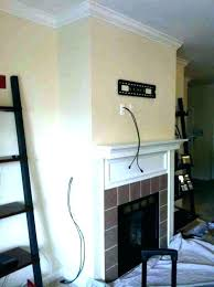 tv above fireplace ideas above fireplace pictures