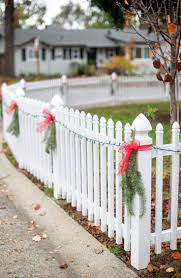 31 Best Christmas Decorations On Fences Images On Pinterest