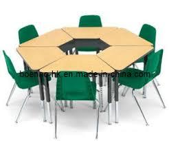 school table and chairs. Exellent School Hexagon Student Table U0026 Chairs School And Chair  On And Chairs C
