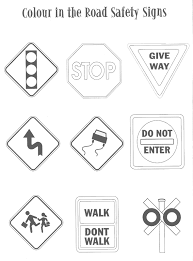 Small Picture road sign color sheet Road sign coloring Index of Kids