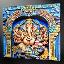 ganesha canvas wall art