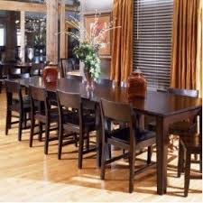 dining table 10 chairs. nice long dining table for 10. would like cushioned seats 10 chairs x