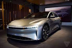Lucid Motors goes public, collects $4.5 ...