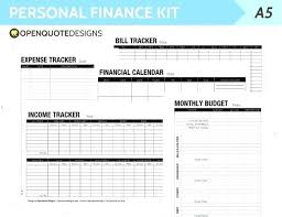 Personal Expense Tracking Personal Spending Spreadsheet Image 0 Personal Budget Spreadsheet