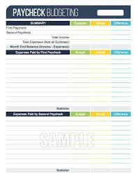 Weekly Budget Forms Family Monthly Budget Template Weekly Printable Monster Reviews