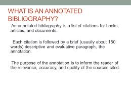 Sample annotation