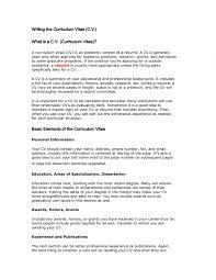 Definition Resume En Francais For Job Vs Cv Noun Career Objective