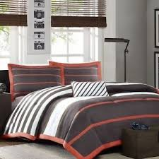 images gray orange white image is loading new twin xl full queen cal king bed