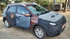 new car launches by march 2015Hyundai Elite i20 crossover spied again launch in March 2015