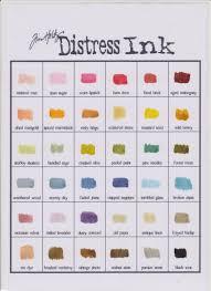 Tim Holtz Distress Ink Color Chart Tim Holtz Distress Ink