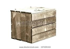 shipping crate furniture. Wood Crate Furniture Shipping Wooden On Isolate White Background And Barrel Free