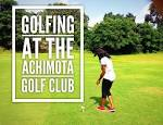Playing Golf At The Achimota Golf Club | Aprilnego