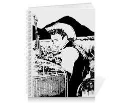 <b>Тетрадь на пружине</b> James Dean Джеймс Дин Giant #1522917 от ...