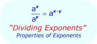 Exponent Rules: Dividing Exponents . . .