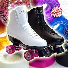 instock dominion classic leather rink roller skates 671 and 274 last ones made