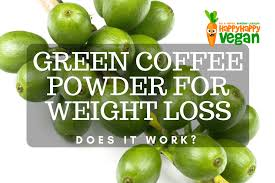 green coffee powder for weight loss does it work